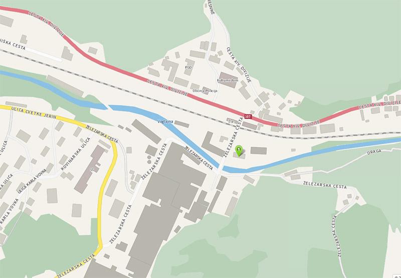 zemljevid storkom